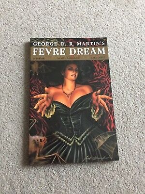 Fevre Dream graphic novel by Game Of Throne's George R R Martin.