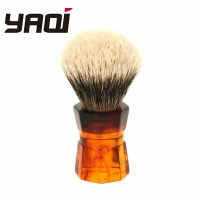 Yaqi 24mm 26mm Moka Express Synthetic Two Band Badger Shaving Brush Density