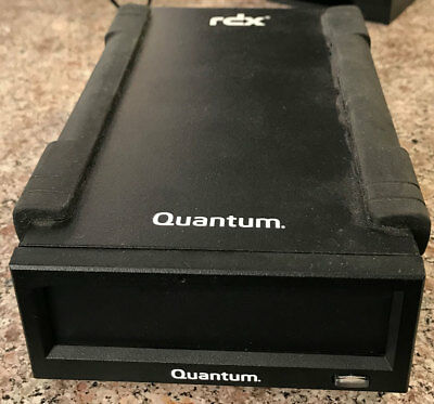 Quantum RDX-USB Docking Station Quantum 9-01997-02 include AC adapter USB Cable