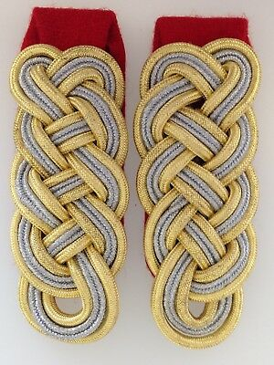 German/Germany Army General Shoulder Boards WW2 Epaulettes