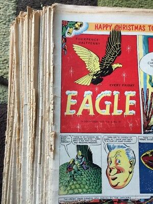 38. x EAGLE  COMPLETE 1953.  Vol 4. No 1-38. Only One Chance To Get Them All!
