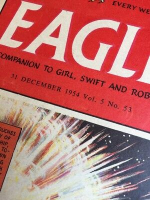 53 x. EAGLE  COMPLETE 1954.  Vol 5.  No 1-53.  Only One Chance To Get Them All!