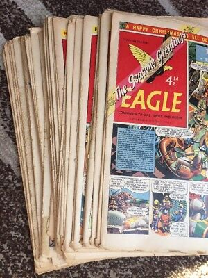 52 x  EAGLE And Boys' World     COMPLETE 1956.  Vol 7. No 1-52. Only For Fans!