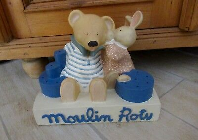 objet publicitaire collection ours marque moulin roty rare neuf