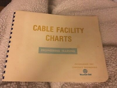 Vtg Mountain Bell Station Cable Protection Engineering Training Book 1975 Phone