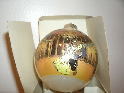 disney beauty and the beast 1993 tree ornament by schmid Collector's Gallery