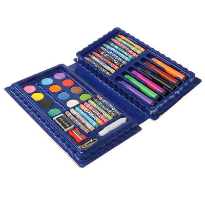 MagiDeal Set da 42 pezzi Deluxe Art - Matite colorate Pastelli in custodia