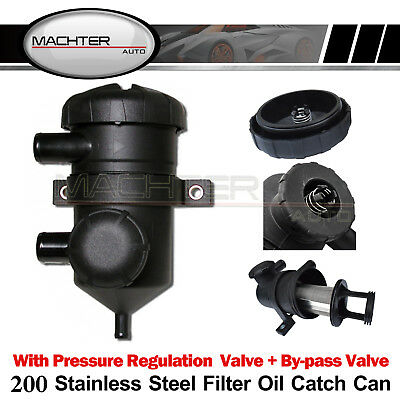200 Pro Oil Catch Can Turbo for Landcruiser Hilux Navara 4WD Triton D22 ZD30 D4D