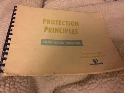 Vtg Mountain Bell Protection Principles Engineering Training Book 1974 Phone