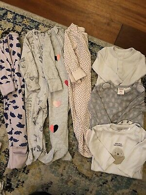 Girls 0-3month Winter Bundle -cotton On, Seed, Bonds