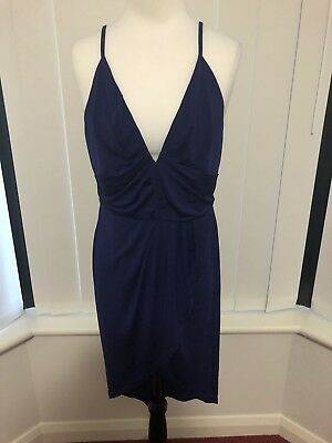 Temt Royal Blue/Purple Cocktail Dress Size XL BNWT *Buy 5 Or More  Get Free Post