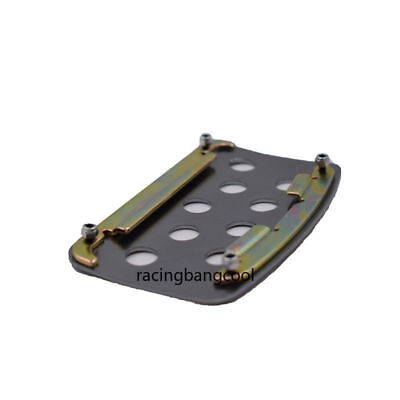 Manual Ralliart Car Gas Pads Accelerator Racing Pedals Brake Pedal Clutch Pedals