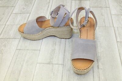 3a54dfc9b6e DOLCE VITA LESLY Wedge Sandals - Women s Size 6 - Grey -  62.40 ...