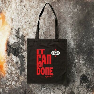 Red Skins It Can Be Done Tasche Schwarz