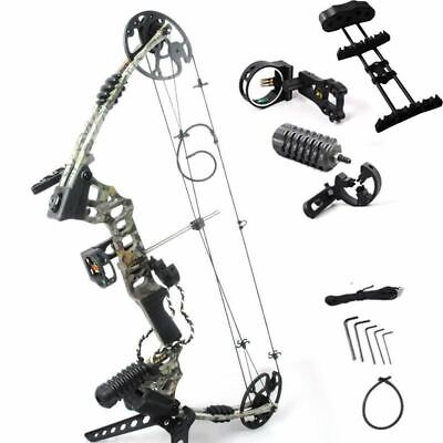 Adjustable 30-70 lbs  Compound Bow Powerful Archery Outdoor Shooting Hunting Bow
