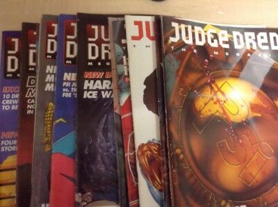 18 Issues Of Judge Dredd The Megazines 1992-1993