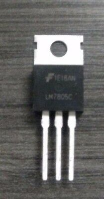 50 Fairchild Voltage Regulator 5V @ 1A. TO-220 Tinned Heat Sink-a Hi-end LM7805