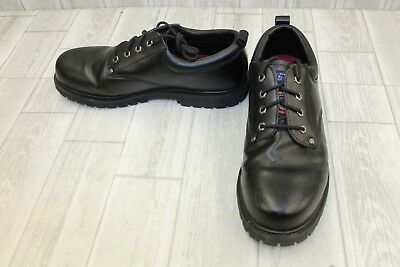 818b76be270 SKECHERS COTTONWOOD ELKS Lace Up Shoe Leather Mens Work And Uniform ...
