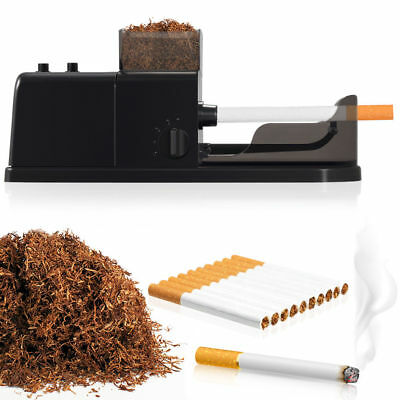 US Plug Electric Tobacco Roller Automatic Cigarette Rolling Machine Injector
