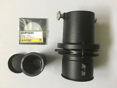 dedolight dp1.1 projector. 85mm lens and gobo holder