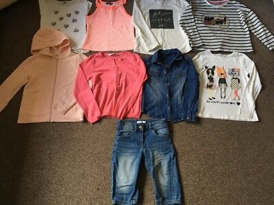 Girls Bundle Of Clothes Tops Shorts Cardigan 6-7 Years Next H&M, M&S