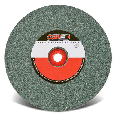 "CGW# 35005 - 6""x1/2""x1"" Green Silicon Carbide Grinding Bench Wheel, 60 Grit"