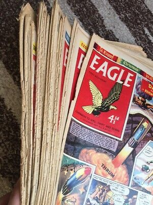 52 x  EAGLE And Boys' World     COMPLETE 1957.  Vol 8.  No 1-52. Only For Fans!