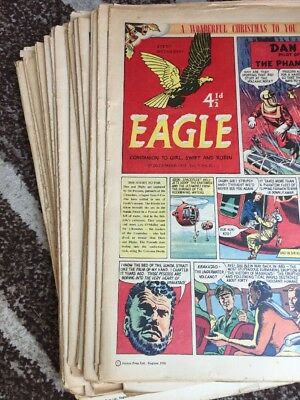 52 x  EAGLE And Boys' World     COMPLETE 1958.   Vol 9,  No 1-52. Only For Fans!