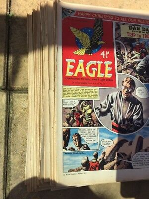45x.  EAGLE And Boys' World     COMPLETE 1959.   Vol 10, No 1-45 Only For Fans!