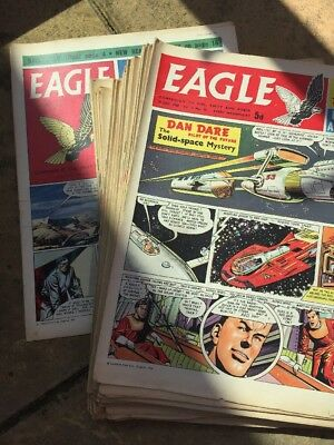 53x.  EAGLE      COMPLETE 1960.   All Magazines. Vol 11, No 1-53. Only For Fans!