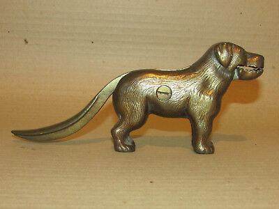 1896 Victorian Cast Iron Dog Nut Cracker. Patent No 273480. Made in England