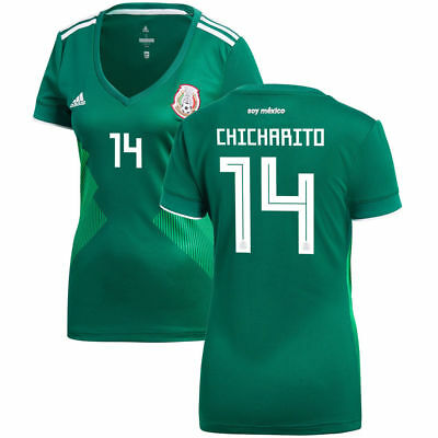 New Mexico Home Women s Soccer Jersey 2018 Women Adults Jersey CHICHARITO   14 67419841ae22