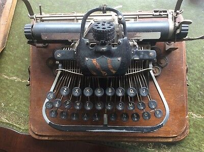 Antique Typewriter By Blicksenderfer For Display Only