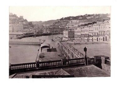 Fotografie, Torquay, from the bath, 927, um 1890,Great Britain