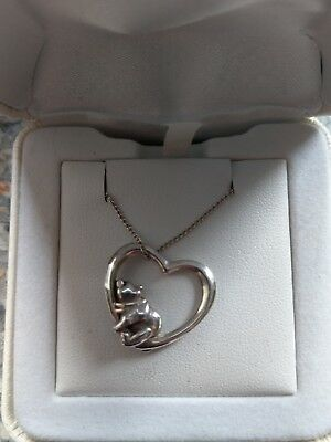 Winnie The Pooh Sterling Silver Necklace