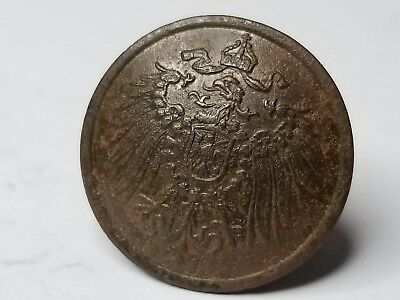 Original DUG WWI German PRUSSIA Prussian large military uniform button