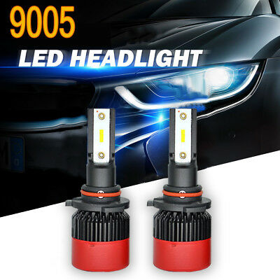 Pair 9005 HB3 H10 CSP LED Headlight Foglight Conversion Kit 6000K Bulbs Global