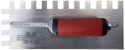 Marshalltown 781SD Notched Trowel 1/2 x 3/4 x 1/2-Inch Sq-Durasoft Handle