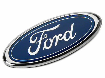 9Inch Blue FOR F150 F250 Front Grille Tailgate Emblem Oval Badge Nameplate