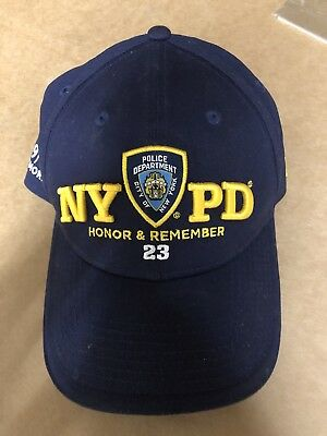 Nypd Honor And Remember 23 9/11 Memorial Cap New Era Fitted