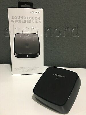 Bose SoundTouch Wireless (Bluetooth/Wi-Fi) Link Adapter, schwarz, OVP