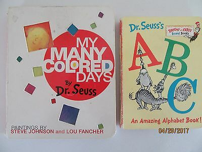 MY MANY COLORED Days by Dr. Seuss (1998, Board Book) - $7.81 | PicClick