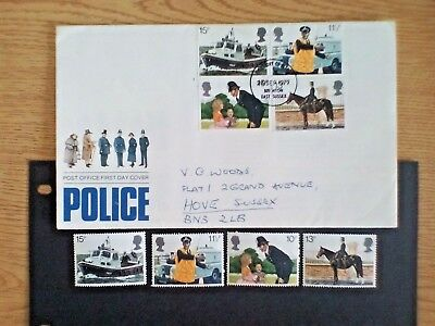 GB STAMPS,150th ANNIVERSARY OF METROPOLITAN POLICE 1979+ FDC