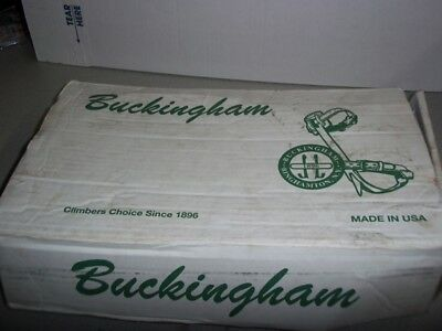 Buckingham Utility Tree Climbing Equipment Climbers Gaffs Spikes Hooks Spurs