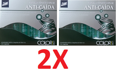 Silk Ampolla ANTI-CAÍDA 12 units 10cc Nourishes Hair, capilar 2 pack