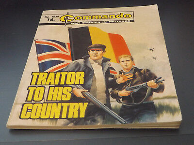 Commando War Comic Number 1639!,1982 Issue,v Good For Age,36 Years Old,very Rare