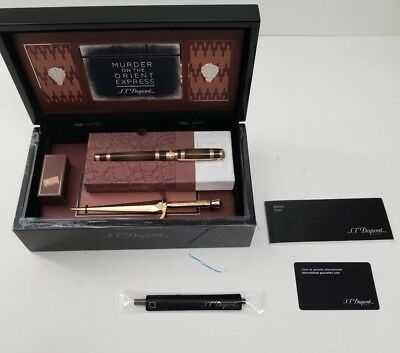 ST Dupont Line 2  Limited Edition Rollerball Pen Murder on The Orient Express