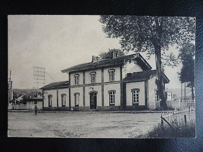 CPA 88-CHATEL NOMEXY - Gare