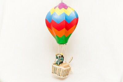 NEW! Wupper Airlines Hot Air Balloon with Battery Operated Electric Motor