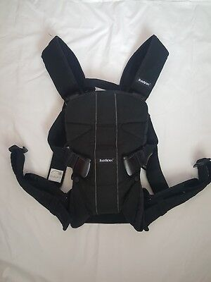 BabyBjorn Baby One Carrier, black colour and great condition